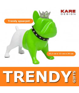 Spaarpot King Dog Groen