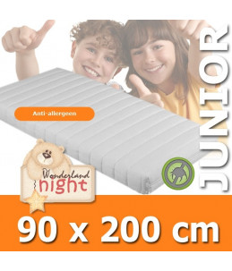 Kindermatras Wonderland Junior Eenpersoons 90x200-Sg25