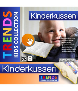 Kids Collection - Hoofdkussen Kinderkussen vedera