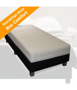 Luxe hotelbox Swing eenpersoons boxspring 70-80-90x200