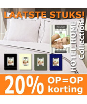 Dekbed overtrek | Hotel Home collection - in 4 kleuren - Micropercal