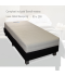 Luxe hotelboxspring swing