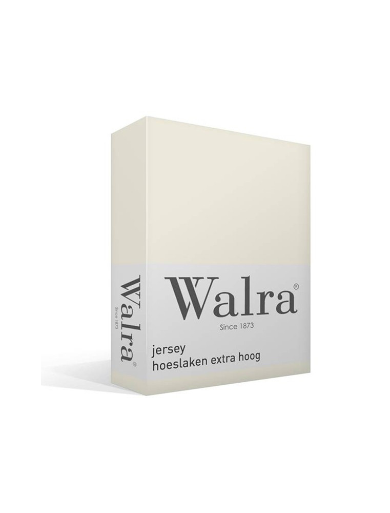 Walra Hoeslaken - Jersey - Stretch - Off White