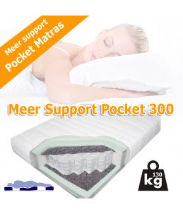 7 zone meer support pocket 300 matras