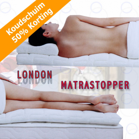 Koudschuim matras Topper LONDON